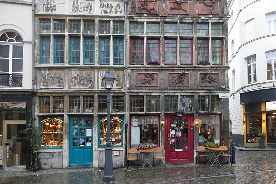 Confiserie Temmerman, a traditional Belgian sweet store, seen on a day trip to Antwerp, Bruges, and Ghent.