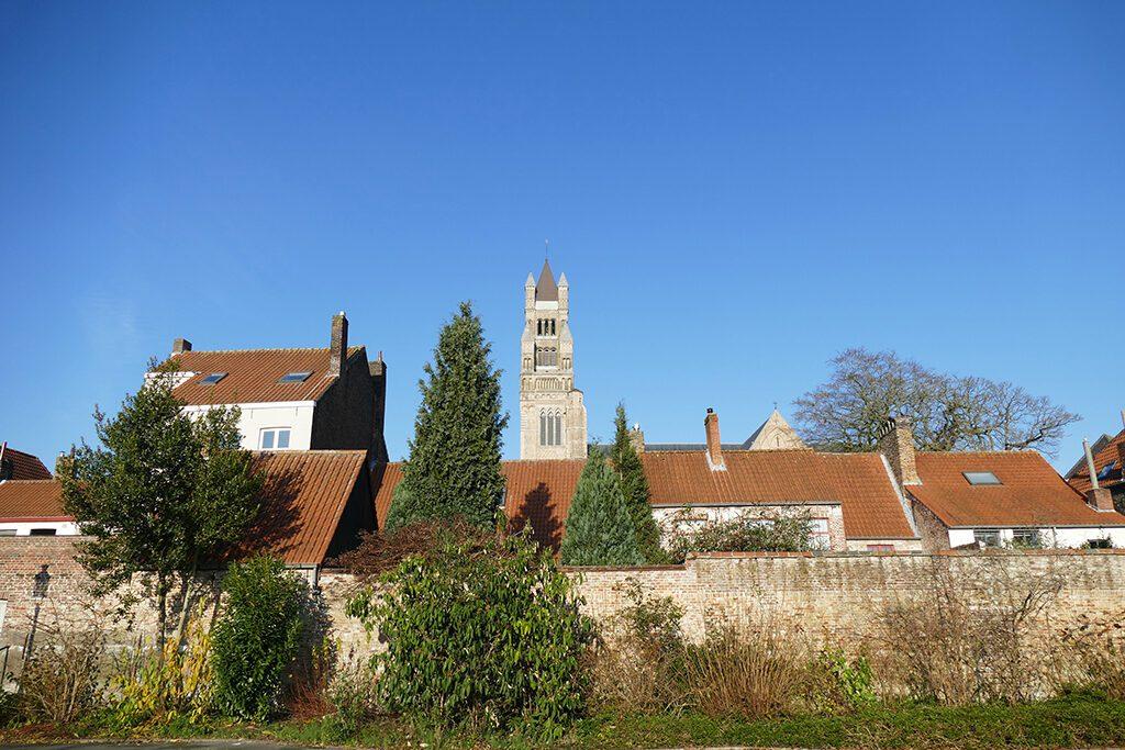 Old Saint John's Hospital in Bruges