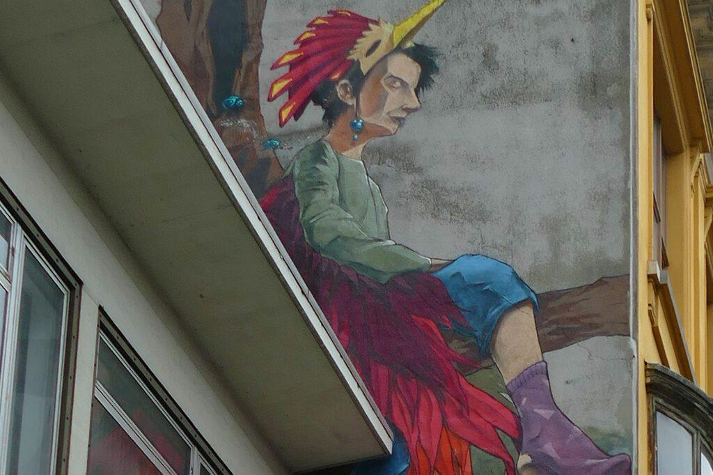 Streetart in Antwerp