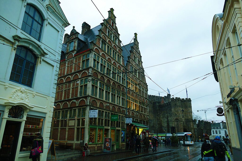 Kleine Vismarkt on a day trip to Antwerp, Bruges, and Ghent