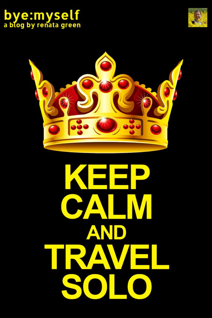 Pinnable Picture for Post on KEEP CALM and TRAVEL SOLO: how to surpass pre-travel anxiety