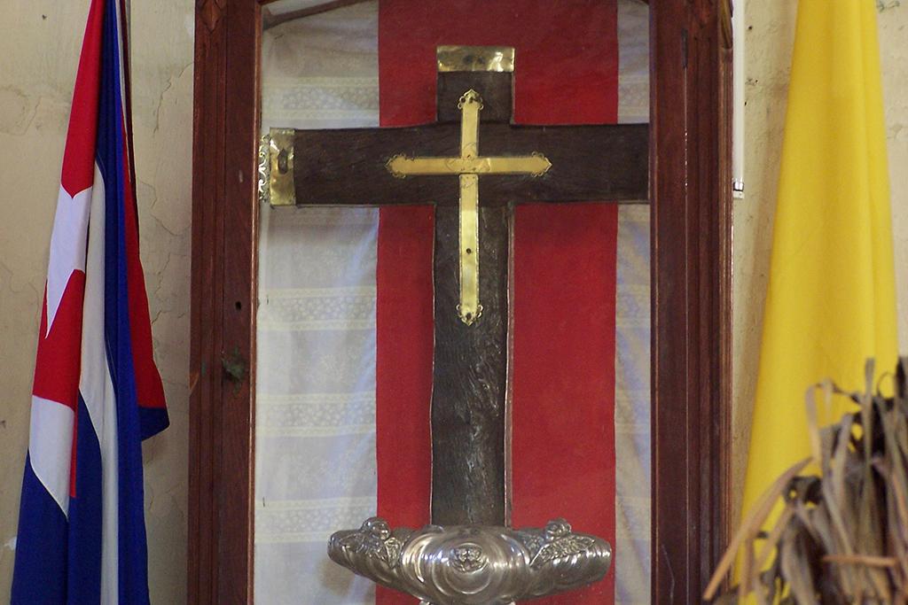 Cruz de la Parra from the 15th century.  (Photo: anonym, Cruz de la Parra, cropped 2:3, CC BY 2.5)