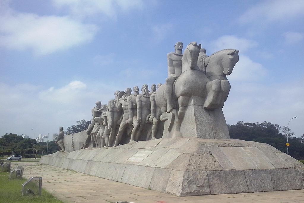 Monumento às Bandeiras in SÃO PAULO - Brazil's Art Hub