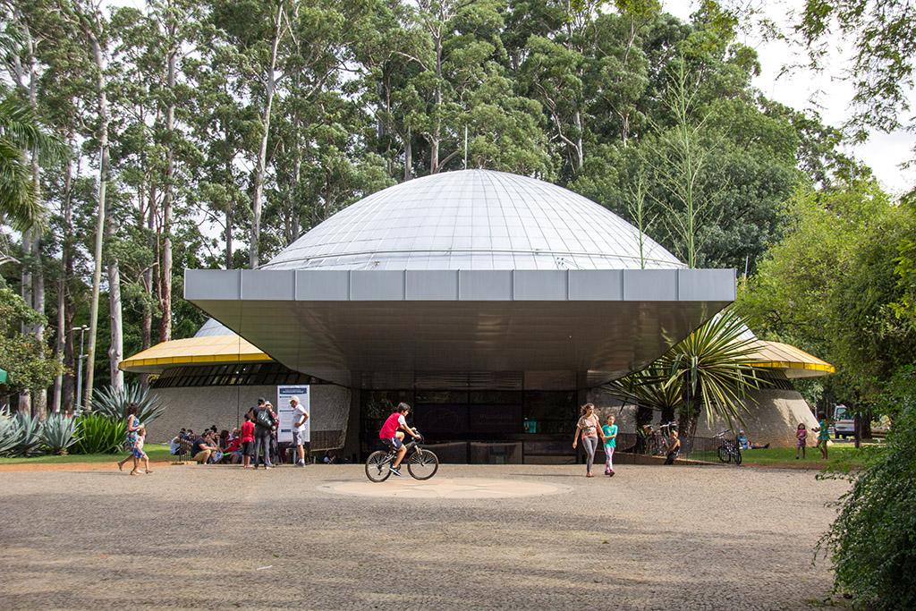Planetário Ibirapuera in Sao Paulo