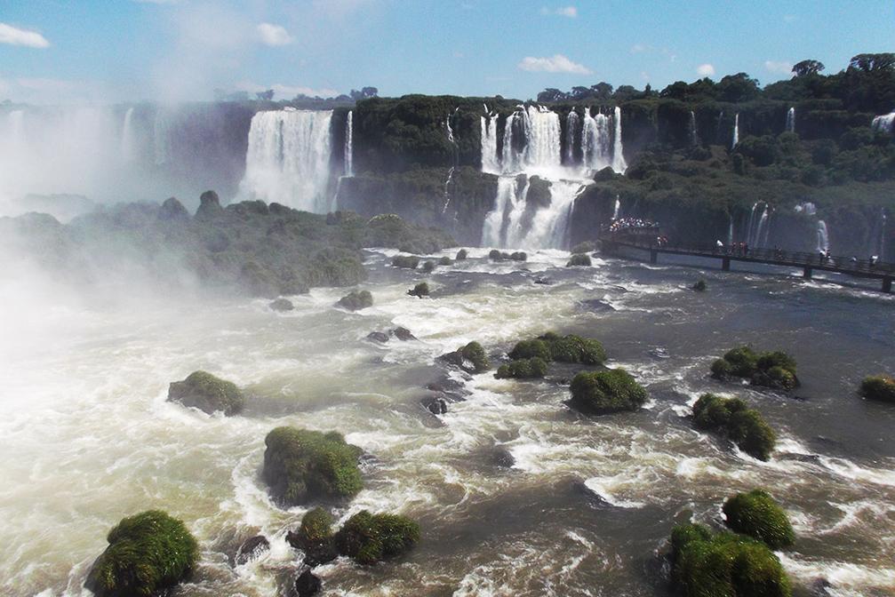 Waterfall at Foz do Iguacu