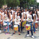 Group of drummers in Belo Horizonte