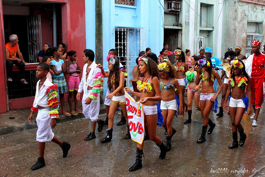 Santiago's famous carnival