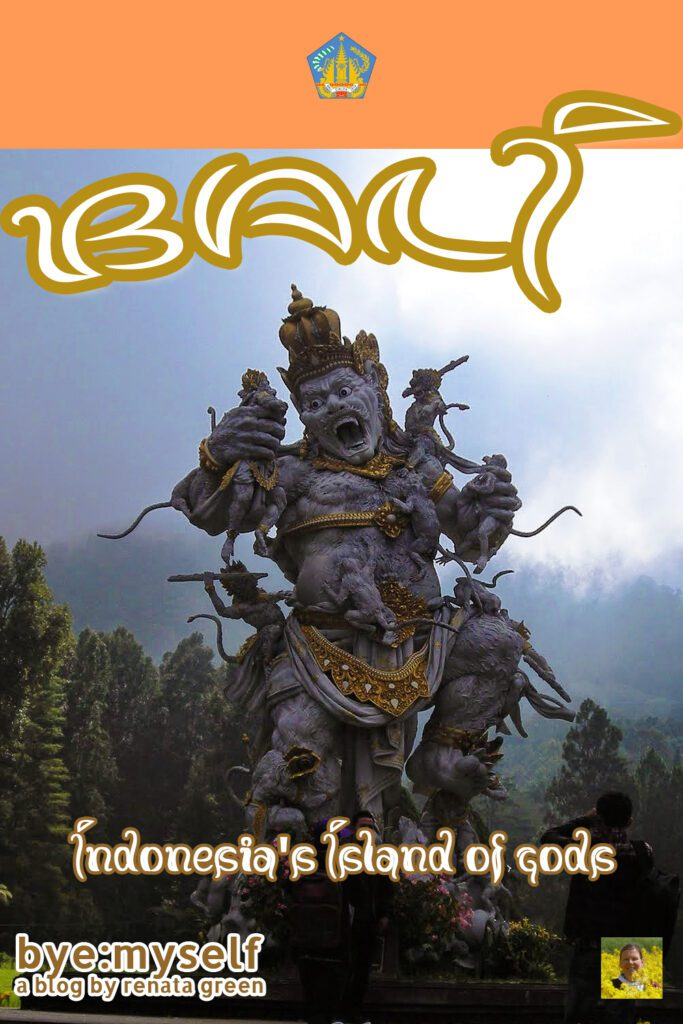 Pinnable Picture for the Post on BALI - Indonesia 's Island of Gods