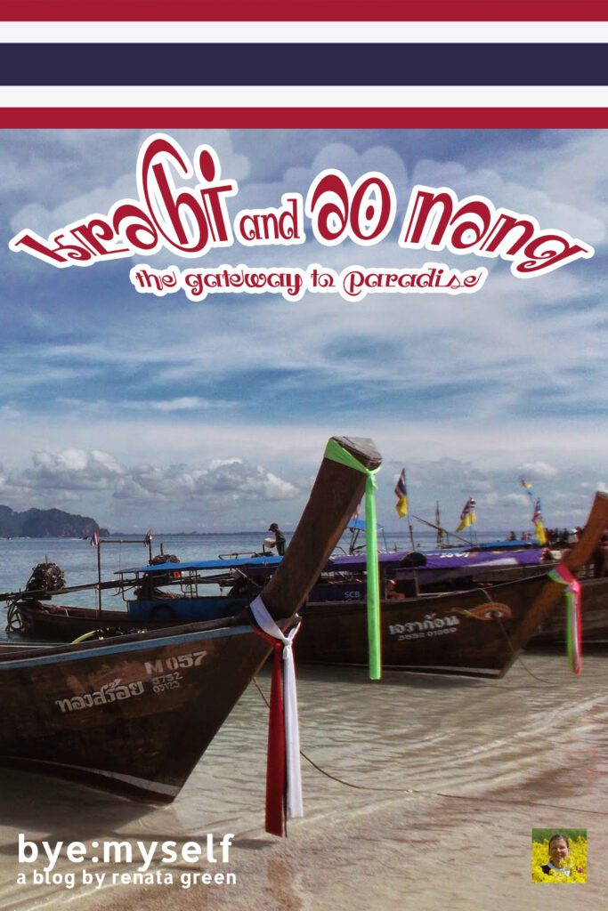 Pinnable Picture for the Post on KRABI and AO NANG - the Gateway to Paradise