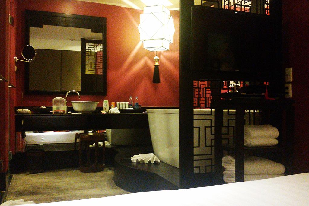 Bathroom at the Shanghai Mansion
