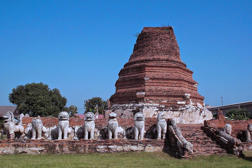 Wat Thammikarat in Ayutthaya