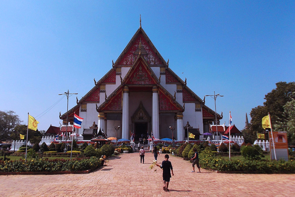 Wang Luang Palace in Ayutthaya