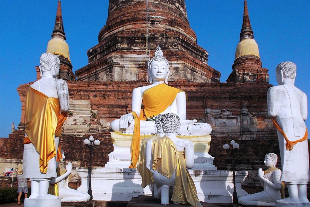 Wat Yai Chai Mongkon in Ayutthaya
