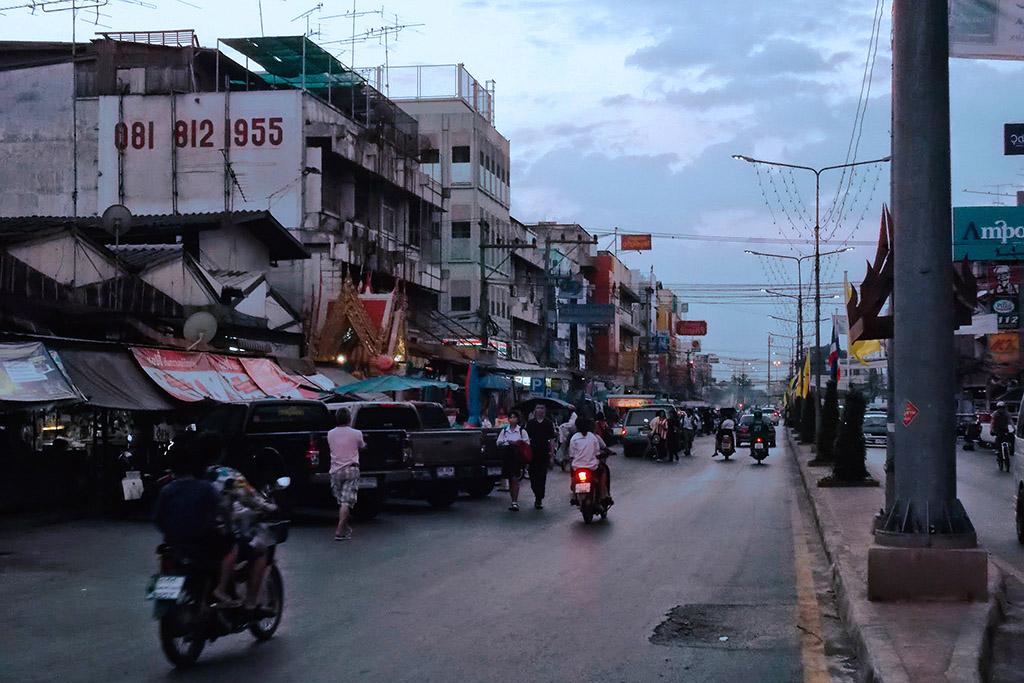 Street in Ayutthaya
