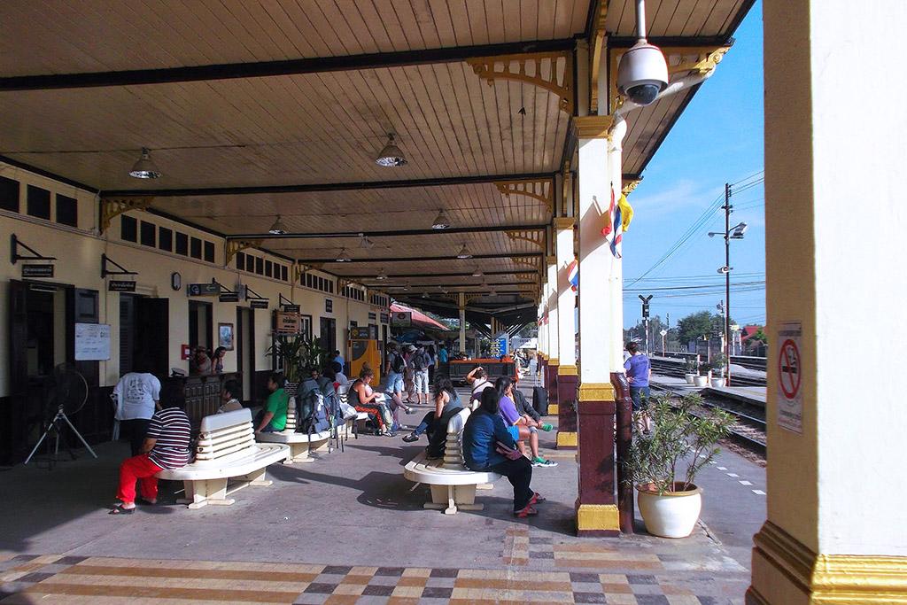 Train station in Lopburi