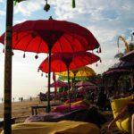 Beach of Legian on Bali, Indonesia 's Island of Gods