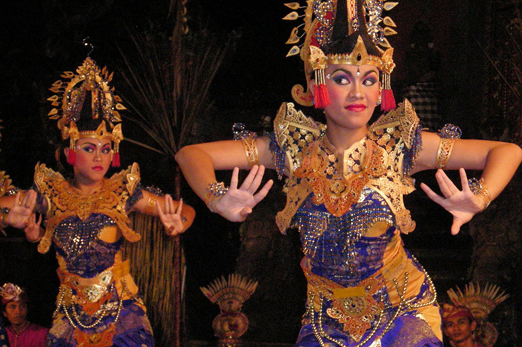Dancers in Ubud on Bali, Indonesia 's Island of Gods
