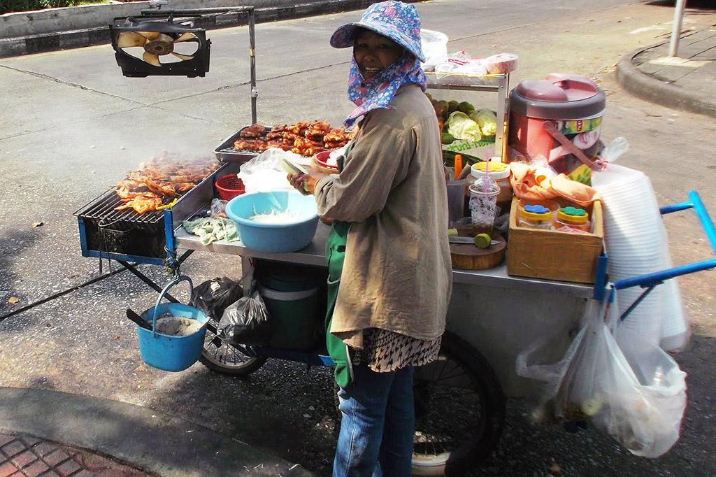 Streetvendor in Bangkok
