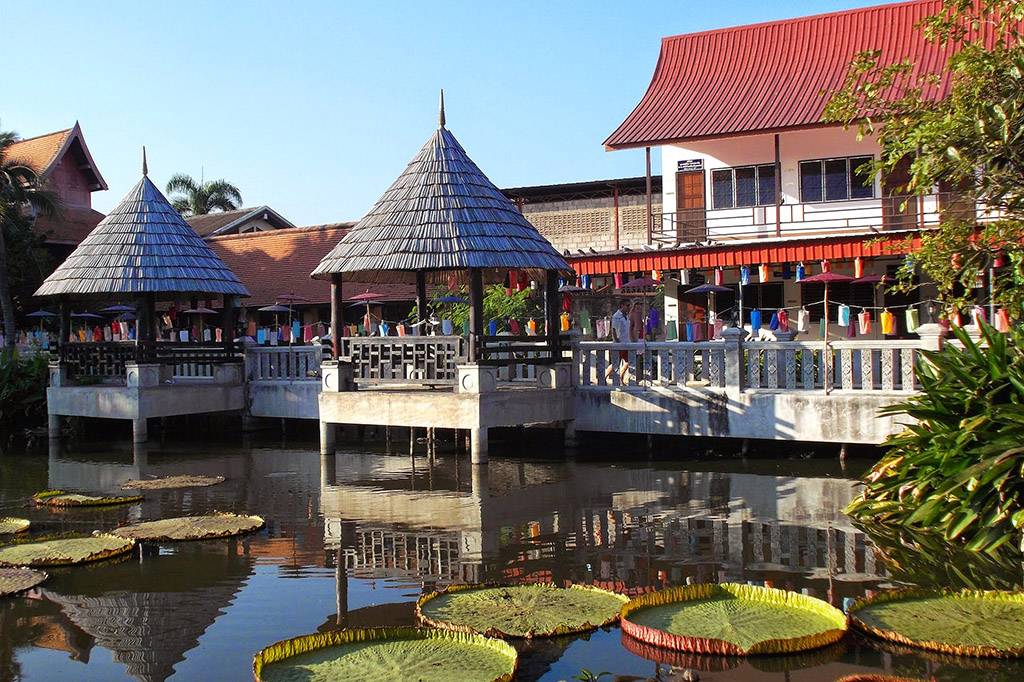Wat Muen Ngoen Kong, one of the ten best temples in Chiang Mai
