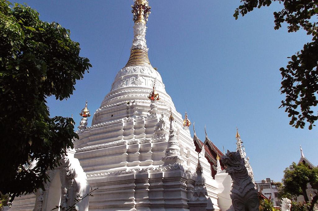 Wat Mahawan, one of the ten best temples in Chiang Mai