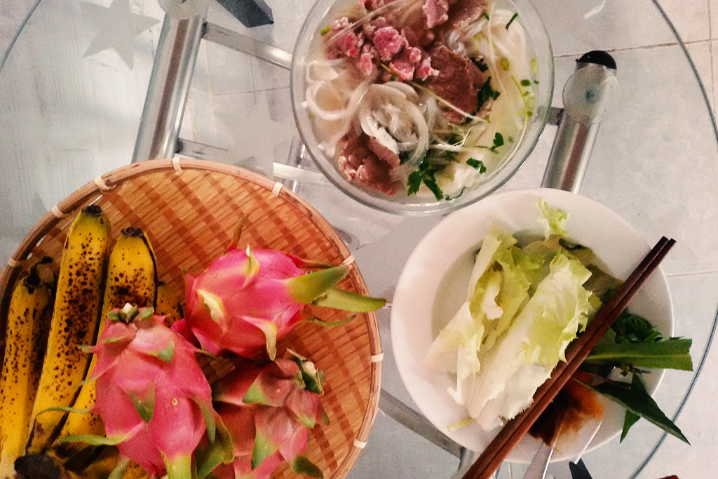 Vietnamese Breakfast in Da Lat