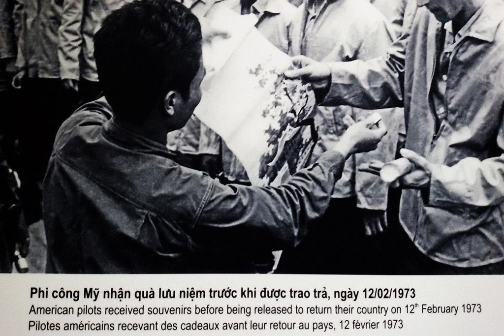Hoa Lo Prison in Hanoi, the capital of Vietnam