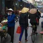 Street Scene in Hanoi, Vietnam's capital