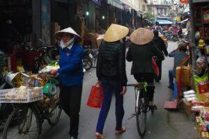 Street Scene in Hanoi, Vietnam's capital