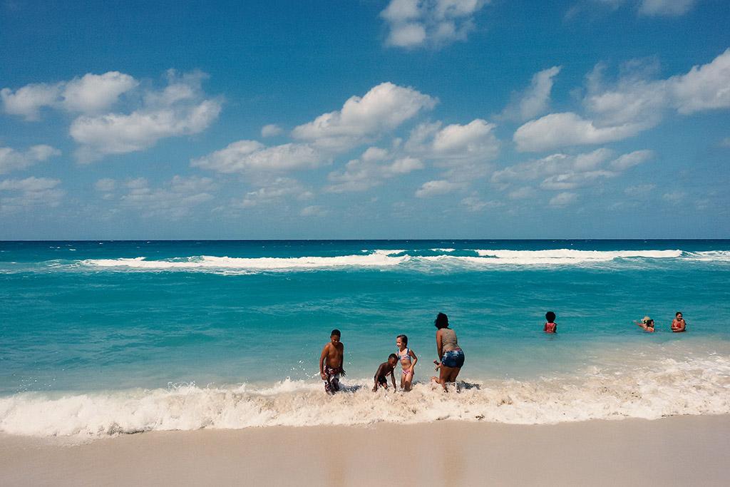 Playa del Este on the outskirts of Havana