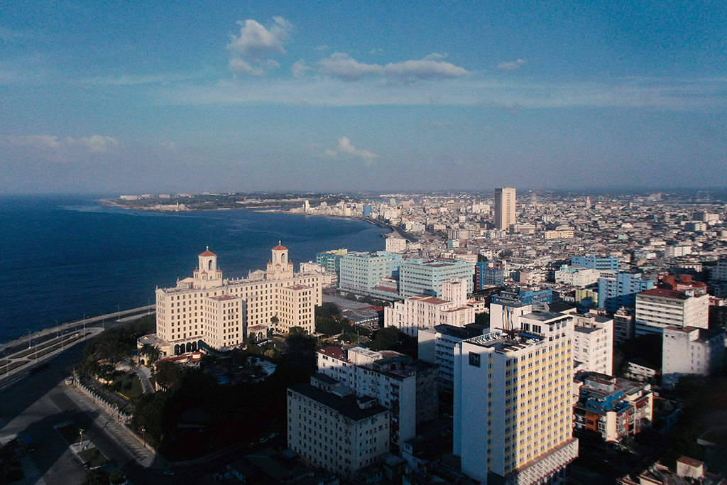View of Havana from the Edificio FOCSA