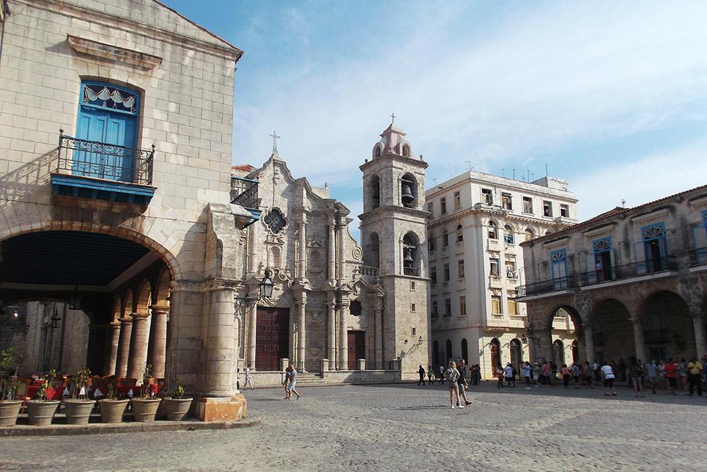 Plaza de la Catedral in Havana
