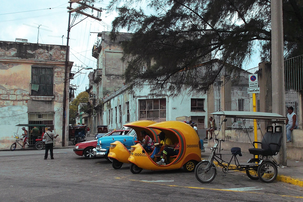 Means of transportation in Havana