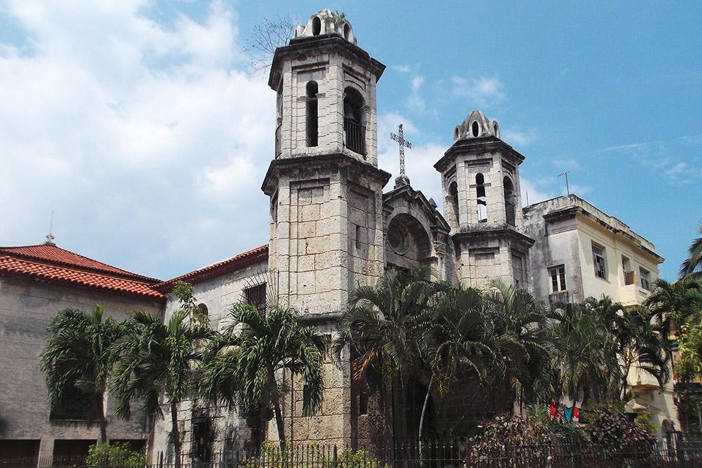 Church of Santo Cristo del Buen Viaje in Havana