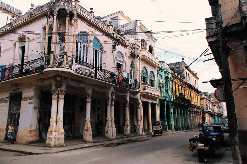 Calle Cardenas in Havana