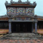 The replica of the Royal Theatre at Hue's Citadel.