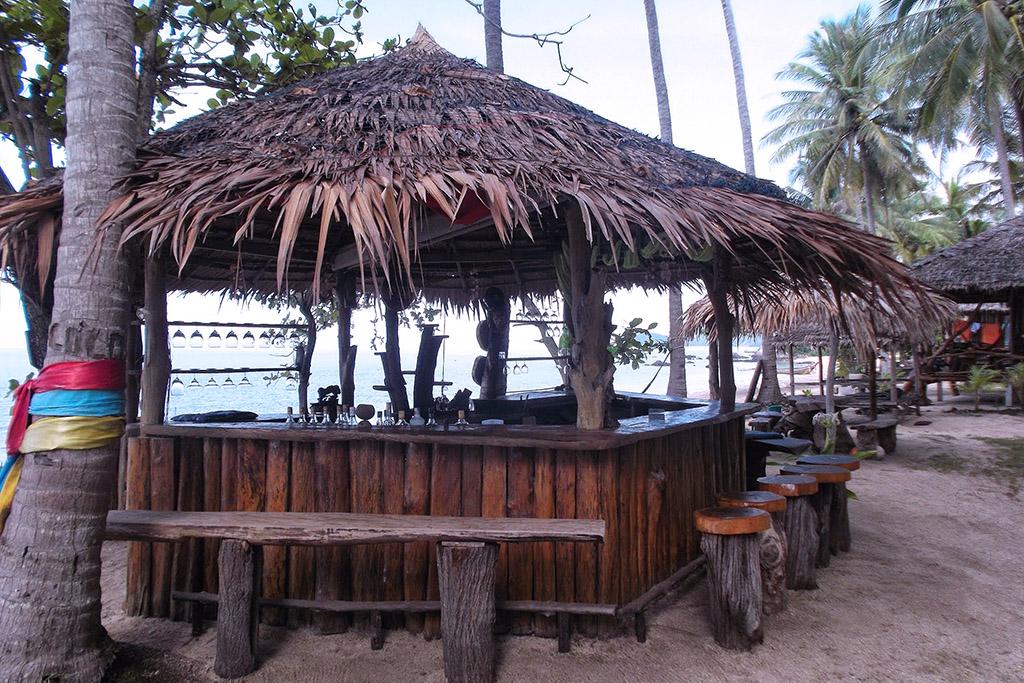 Beach bar on Koh Jum