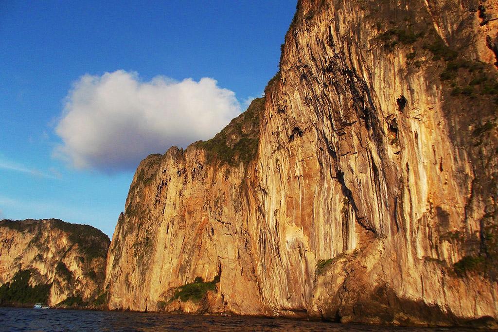 Rocks on Koh Phi Phi in the Andaman Sea