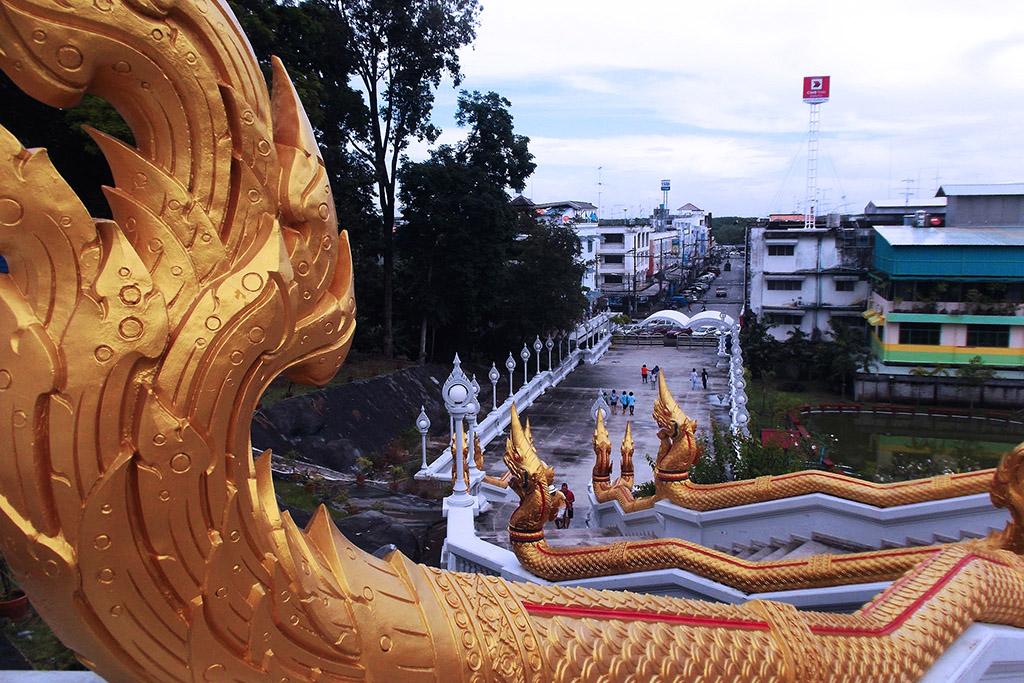 View of Krabi Town from Wat Kaew Korawaram