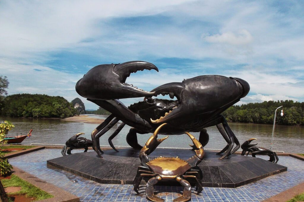 Crabs in Krabi, Thailand