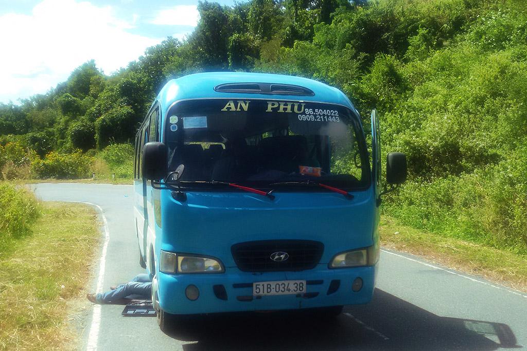 Bus from Mui Ne to Da Lat