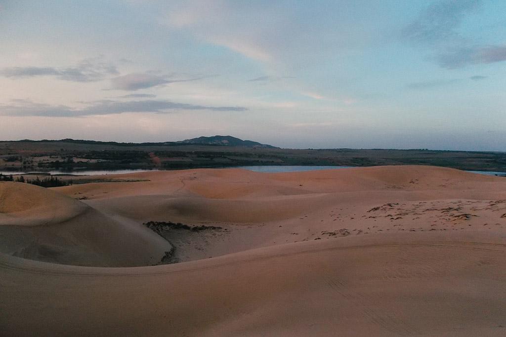 Sand Dune in Mui Ne, Vietnam's Sea Resort