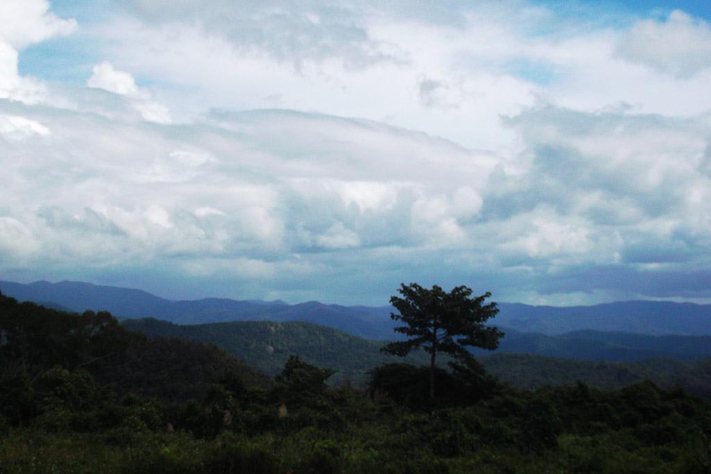 Scenery on the way from Mui Ne to Da Lat in Vietnam.
