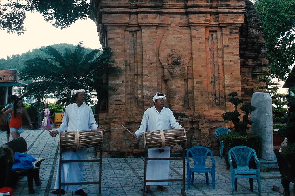 Cham history at the beach resort in Nha Trang.