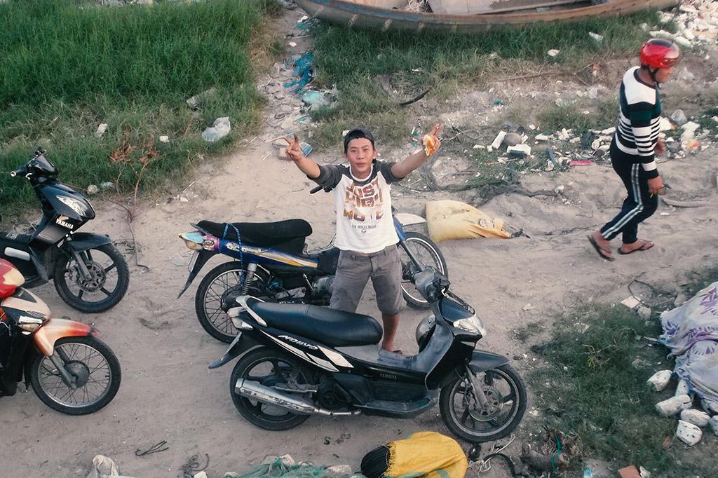 Young man in Nha Trang