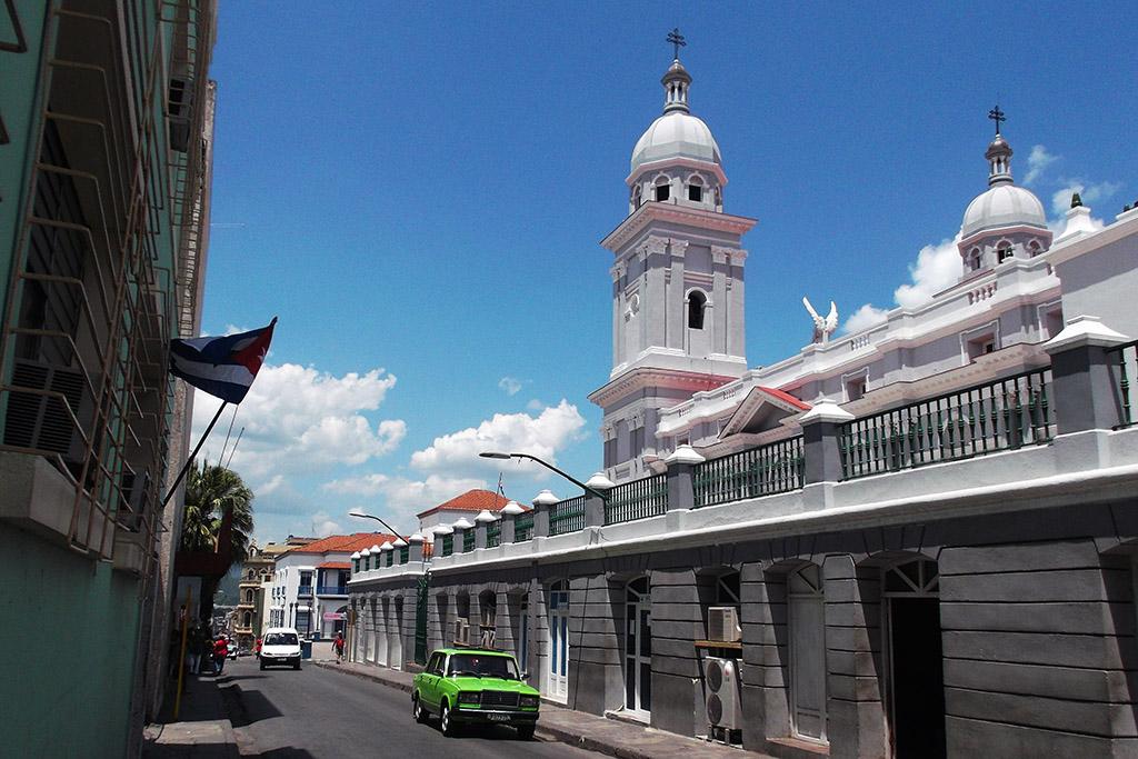 Cathedral in Santiago de Cuba