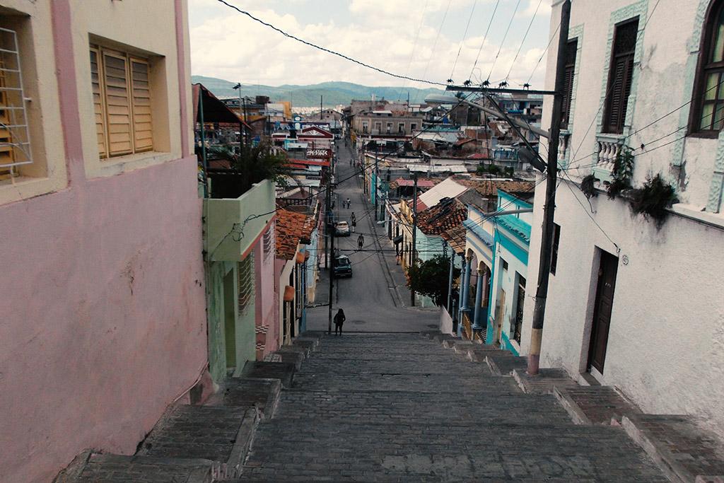 The Padre Pico Steps in Santiago de Cuba.