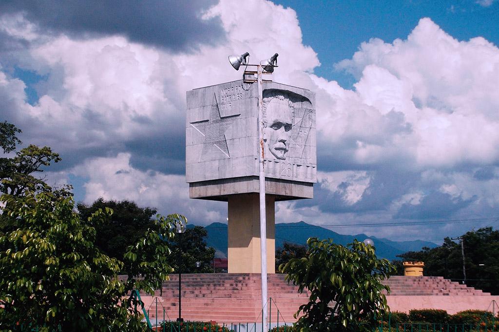 Abel Santamaria Monument in Santiago de Cuba