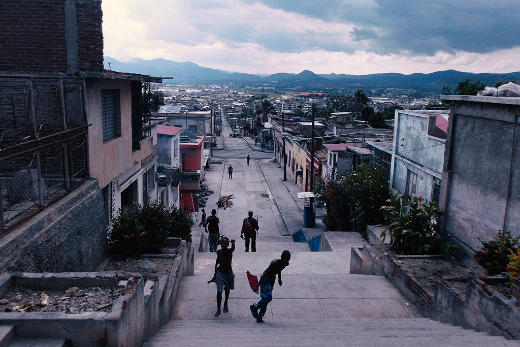 Steps in Santiago de Cuba