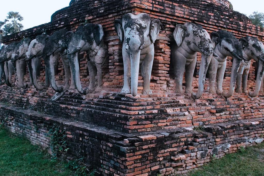 Wat Sorasak in Sukhothai