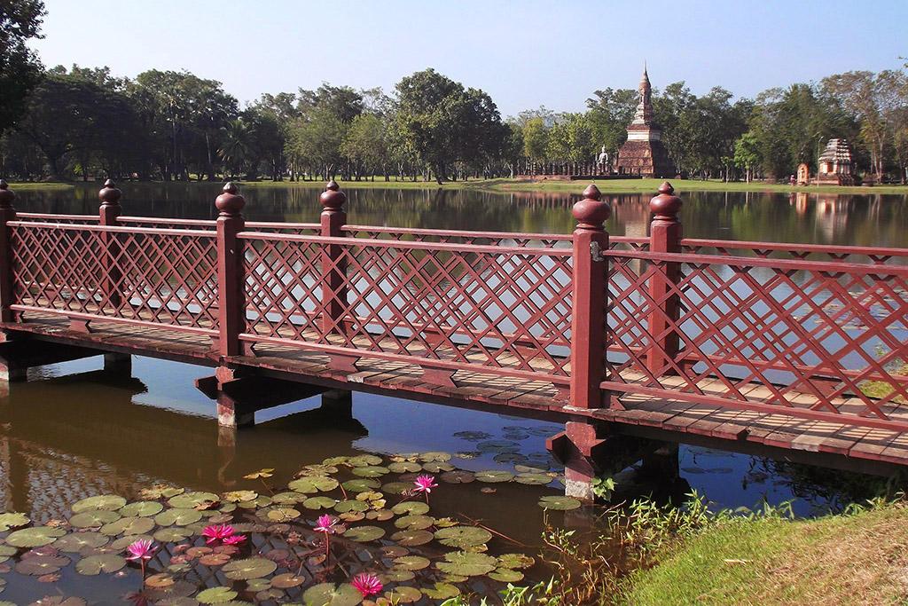 Wat Traphang Ngoen in Sukhothai